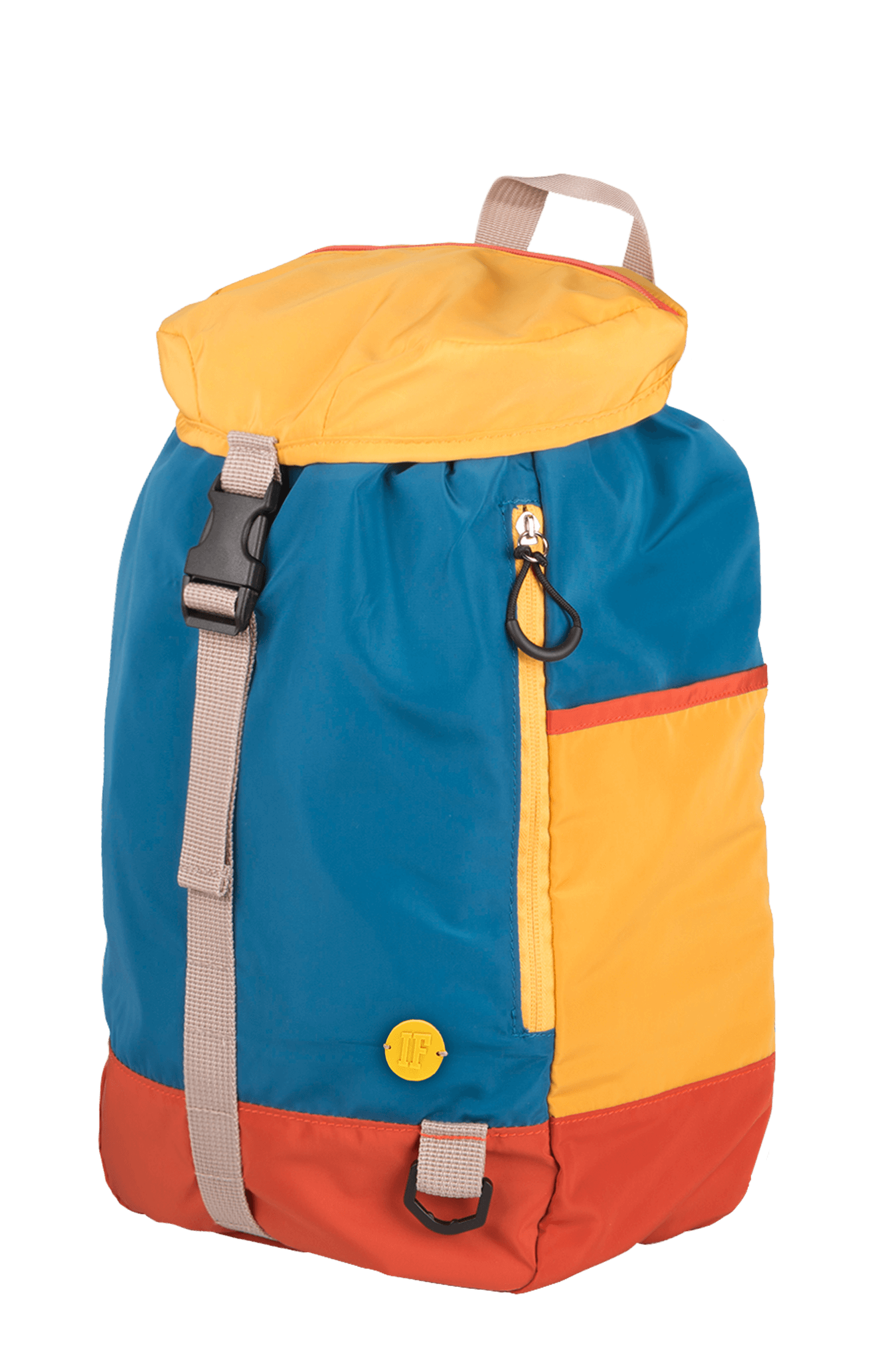 Backpack U-MORE BLUE/YELLOW/RED
